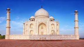 Taj Mahal в Agra, Индии стоковое изображение