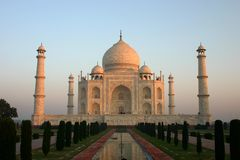 Taj Mahal. The Taj Mahal in Agra, India Stock Photos