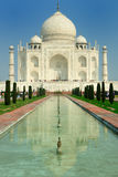 Taj Mahal. White marble Taj Mahal in  India, Agra, Uttar Pradesh Royalty Free Stock Photo