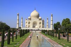 The Taj Mahal Royalty Free Stock Images