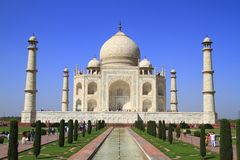 The Taj Mahal Royalty Free Stock Photography