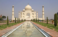 Taj Mahal. In Agra, India Royalty Free Stock Photos
