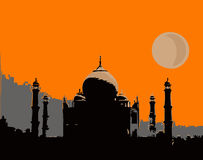 Taj Mahal. Photographie stock