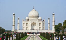 The Taj Mahal Stock Image