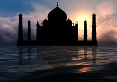 Taj Mahal ! Royalty Free Stock Photo