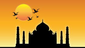Taj Mahal ! stock illustration