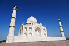Taj Mahal,阿格拉 免版税库存图片
