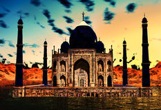 Taj Mahal Stock Photo