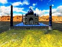 Taj Mahal Royalty Free Stock Photo