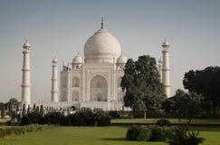 Taj Mahal. Faboulus white Taj Mahal  in Agra, India early in the morning Stock Image