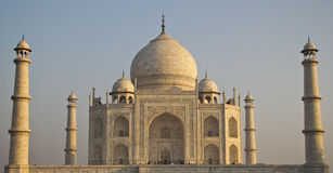 The Taj Mahal royalty free stock photo
