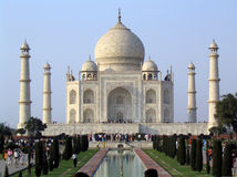 Taj Mahal. The Taj Mahal in Agra, India Stock Photo