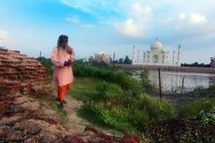 Taj Mahal Royaltyfri Bild