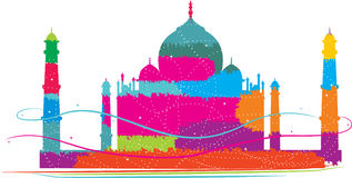 Taj Mahal 3 Royalty Illustrazione gratis