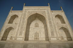 Taj Mahal. View from East site Royalty Free Stock Images