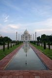Taj mahal. One of the world's most famous architecture: Taj Mahal Royalty Free Stock Photos