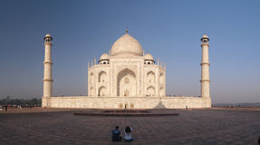 Taj Mahal. Palace in India Royalty Free Stock Photo