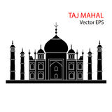 Taj Mahal vector illustratie