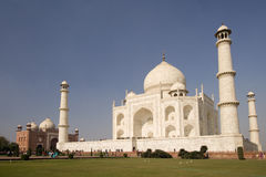 Taj mahal. Different view from the beautiful wonder of the world Taj Mahal , Agra, India Stock Images