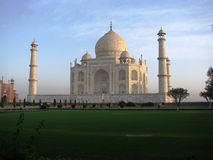 Taj Mahal. Photo of the fames Taj mahal in agra, india Royalty Free Stock Photography