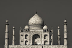 The Taj Mahal of Agar, India Stock Images