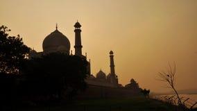 Taj Mahal Agra Ινδία timelapse φιλμ μικρού μήκους