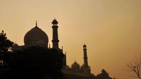 Taj Mahal Agra Ινδία timelapse απόθεμα βίντεο