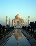 Taj Mahal, Agra, Ινδία. Στοκ φωτογραφία με δικαίωμα ελεύθερης χρήσης