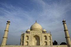 Taj Mahal, Agra Royalty Free Stock Photography