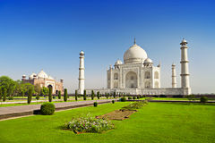 Taj Mahal, Agra Stock Photo