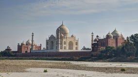 Taj Mahal Agra imagenes de archivo
