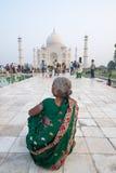 Taj Mahal in Agra Lizenzfreie Stockfotografie