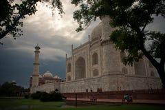 Taj Mahal a Agra Immagini Stock Libere da Diritti