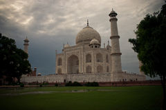 Taj Mahal a Agra immagine stock