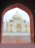 Taj Mahal - Agra Royalty-vrije Stock Afbeeldingen
