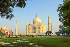 Taj Mahal in Agra stock photography