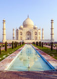 Taj Mahal in Agra royalty free stock photography