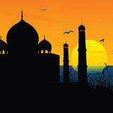 Taj Mahal, agra, India. View of Taj Mahal, agra, India Royalty Free Stock Photography