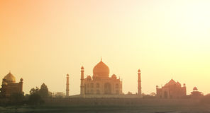 Taj Mahal - Agra, India Foto de Stock Royalty Free