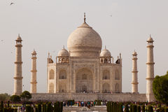 Taj Mahal in Agra India Stock Image