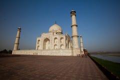 Taj Mahal Agra in India Royalty Free Stock Photography
