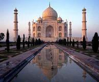 The Taj Mahal, Agra, India. Stock Photography