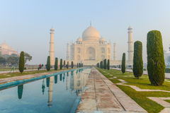 Taj Mahal. In Agra India Stock Photography