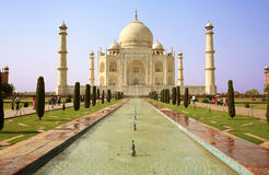 Taj Mahal, Agra, India Royalty Free Stock Photo