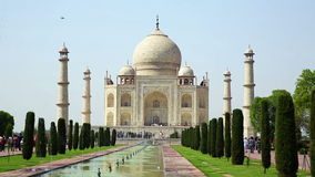 Taj Mahal, Agra, India stock video
