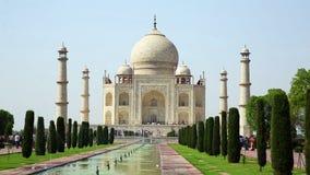 Taj Mahal, Agra, India video estoque