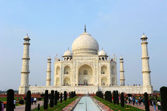 Taj Mahal a Agra, India fotografie stock libere da diritti