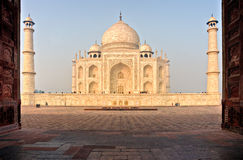 Taj mahal, Agra, India. Royalty Free Stock Image