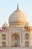Taj Mahal in Agra, India Royalty-vrije Stock Fotografie