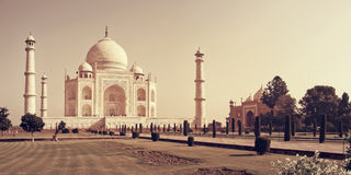 Taj Mahal in Agra Stock Images